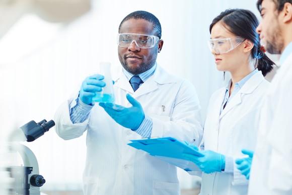 Biotechnology Laboratory Getty