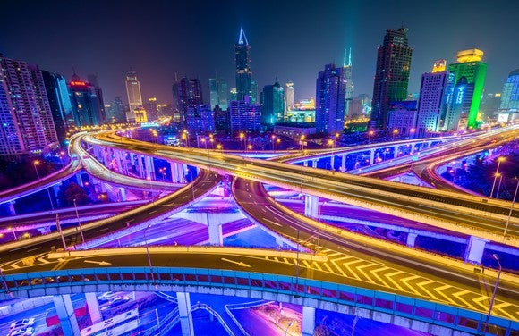 Shanghai Night Highways
