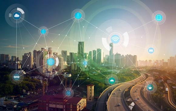 Internet Of Things Smart City Wireless Getty