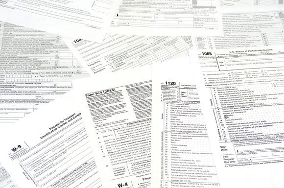 Tax Forms Gettyimages
