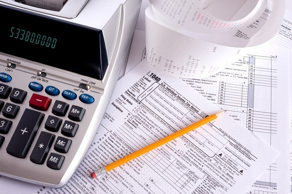 Gettyimages Adding Machine Taxes