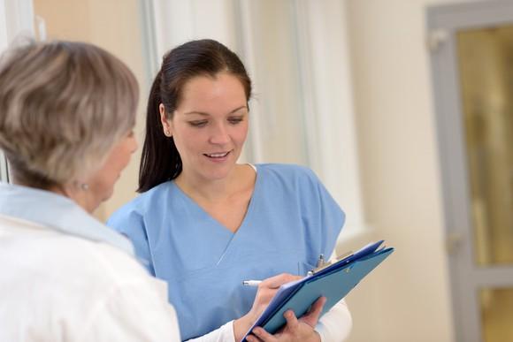 Nursing Healthcare Woman Student