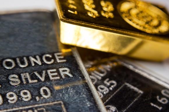 Gold Silver Precious Metals Bars Getty
