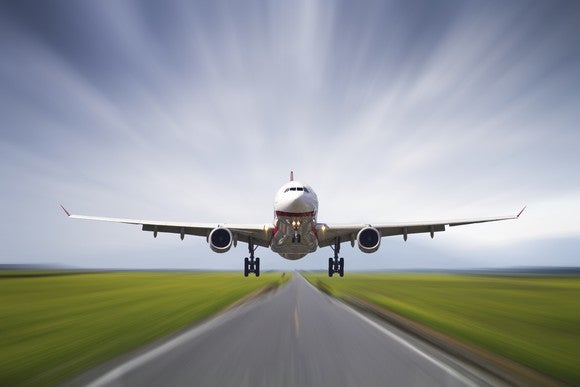 Airplane Takeoff Landing Getty