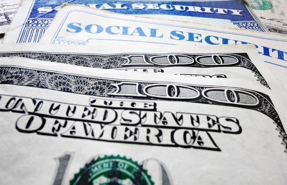 Social Security Cards And Money Gettyimages
