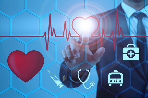 Healthcare Video Screen