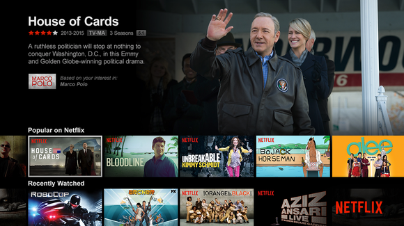 Netflix Original: House of Cards TV series