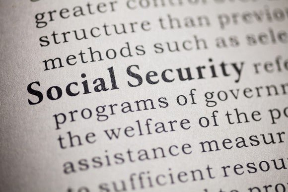 """the words """"Social Security"""" bolded in part of a paragraph"""