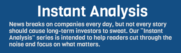 Motley Fool Instant Analysis Header Image