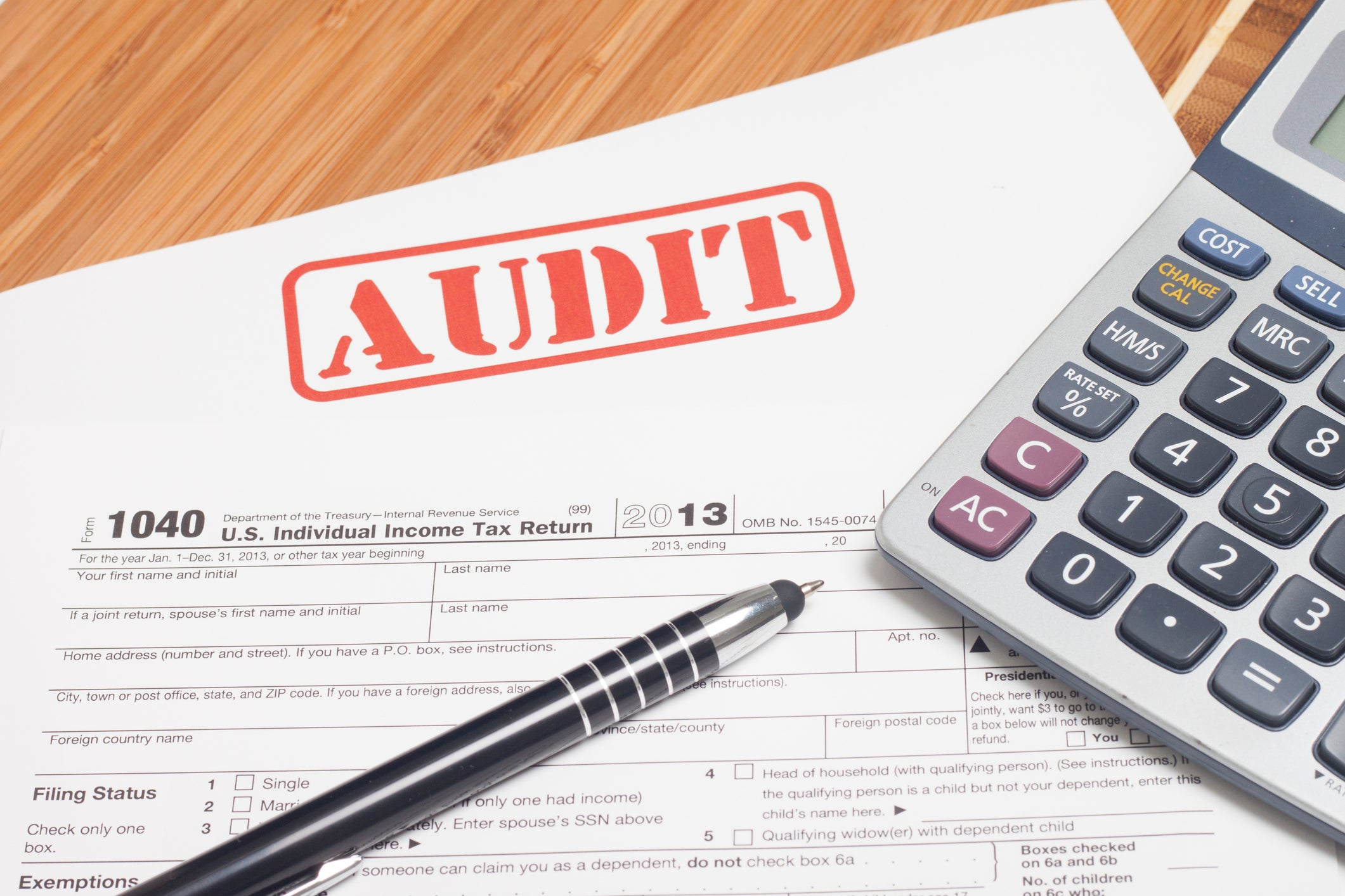 Here Are the Odds of An IRS Audit -- The Motley Fool