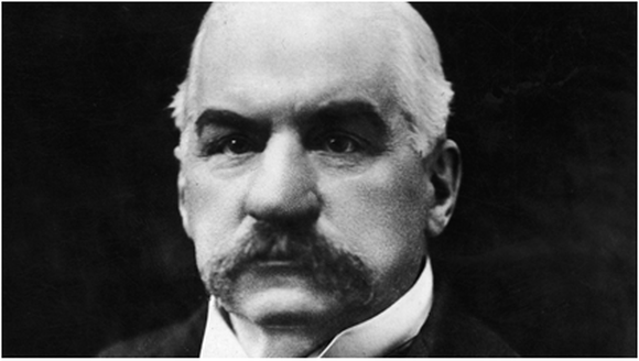 John Pierpont Morgan, the founder of JPMorgan Chase.