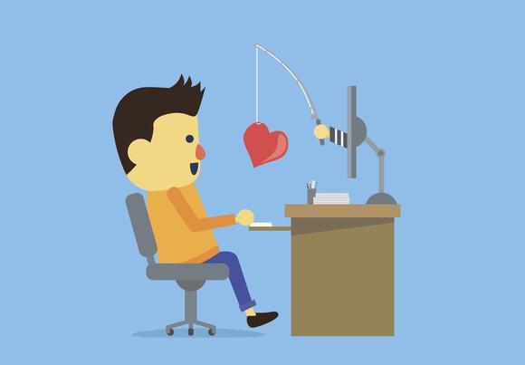 Online dating scam victim