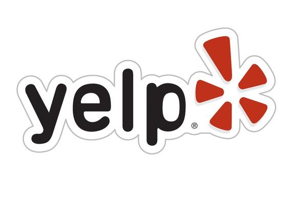 Yelp's logo.