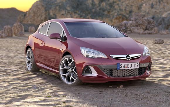 An Opel car.