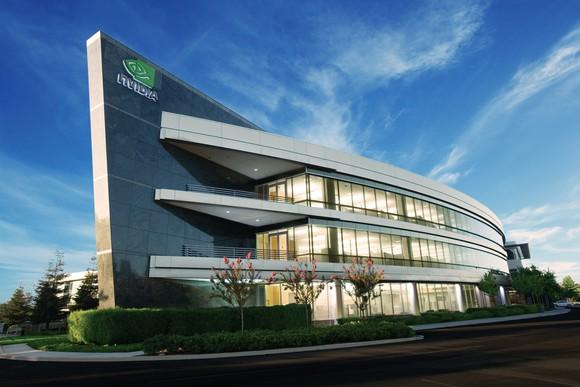 NVIDIA headquarters in Santa Clara, California