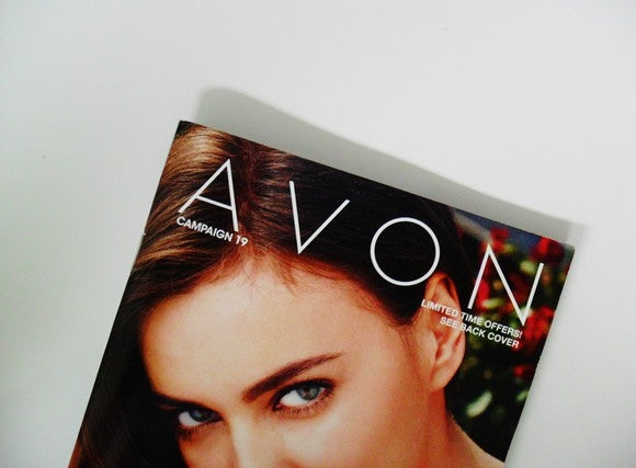 An Avon catalogue