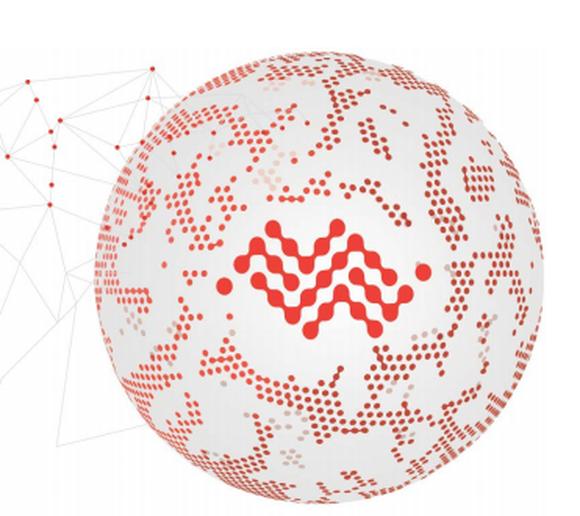 Sierra Wireless logo inside a connected globe.
