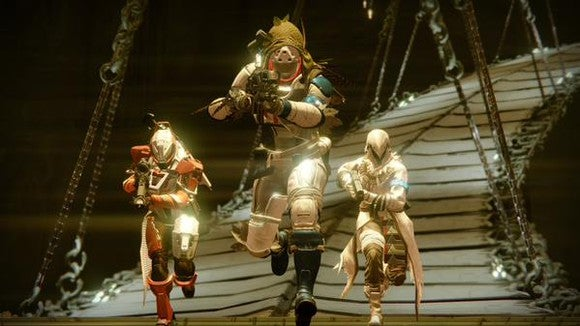 "A scene from Activision's ""Destiny"" game."