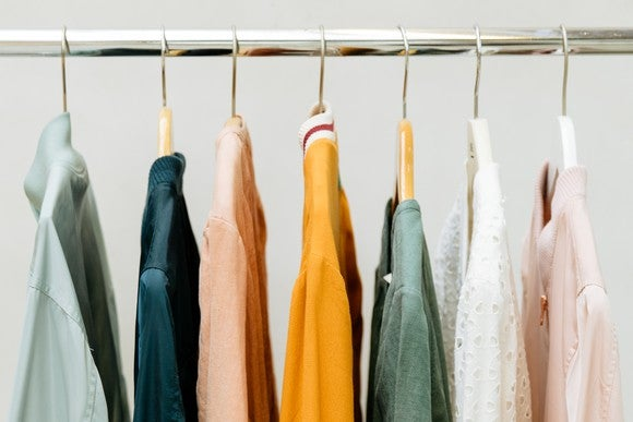 Anthropologie clothes rack