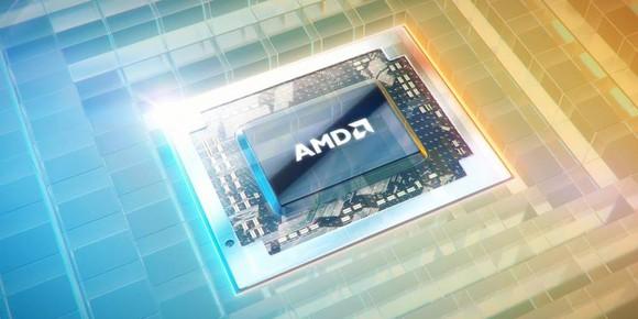 An AMD processor