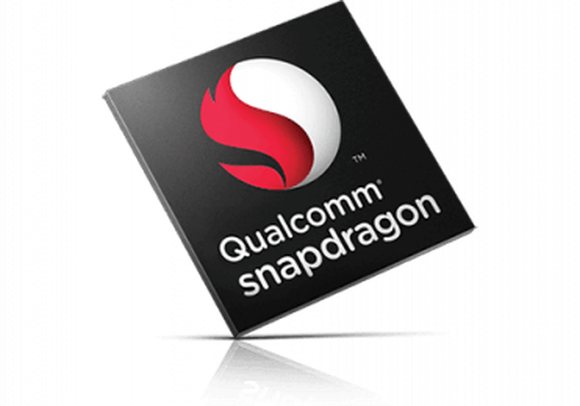 A render of a Qualcomm Snapdragon mobile chip.