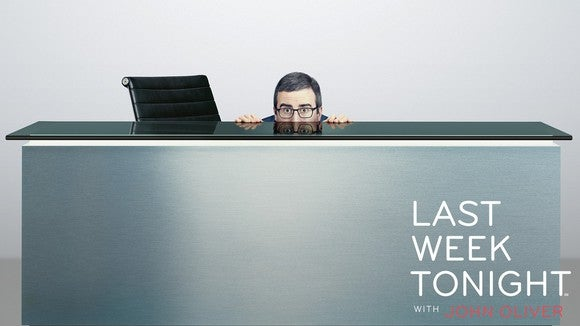 Promotional image for Last Week Tonight with John Oliver