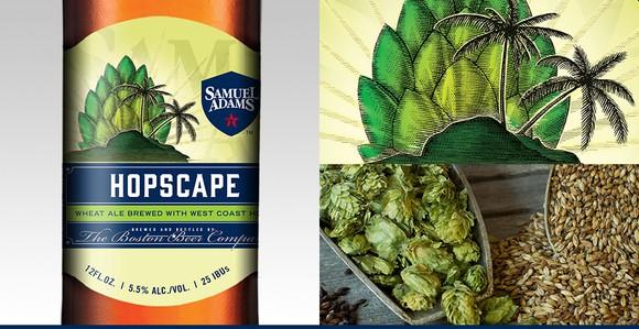 Boston Beer's seasonal craft beer Hopscape