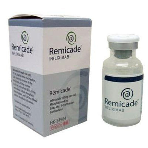 Box and vial of Remicade.