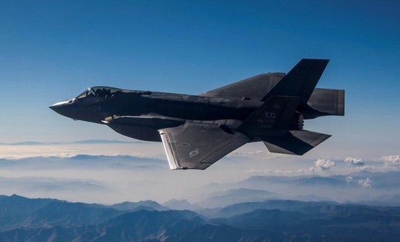 F-35A in flight