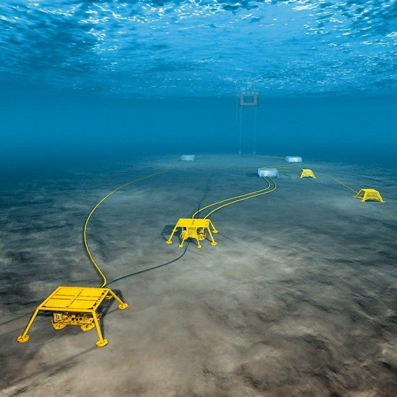 Undersea monitoring systems for oil and gas applications.