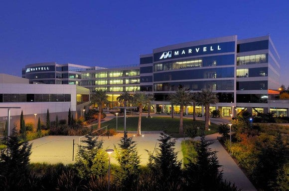 The Marvell Technology campus.