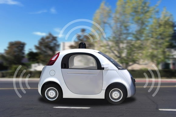 Image of a self-driving car.