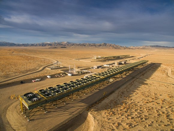 Ormat's Don A. Campbell geothermal power plant
