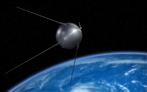 Sputnik satellite.