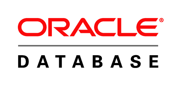 The Oracle database logo.