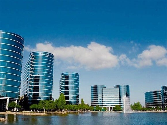 Picture of Oracle headquarters.