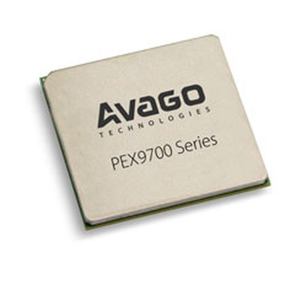 This is a chip made by Broadcom (which was made up of the combination of Broadcom and Avago).