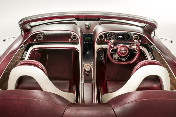The interior of the EXP 12 Speed 6e Concept.