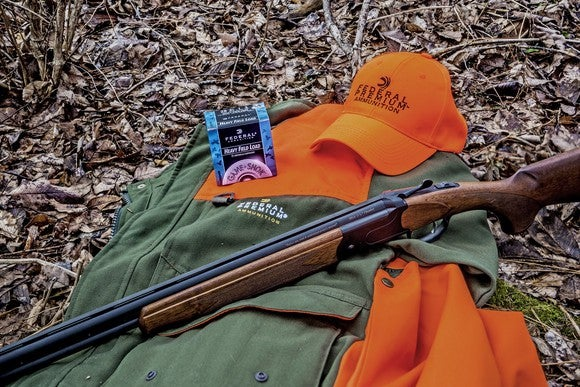 Vista Outdoor's 555 over-and-under shotgun with Federal Premium shells.
