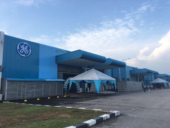GE plant in Malaysia.