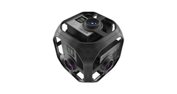 GoPro's Omni rig