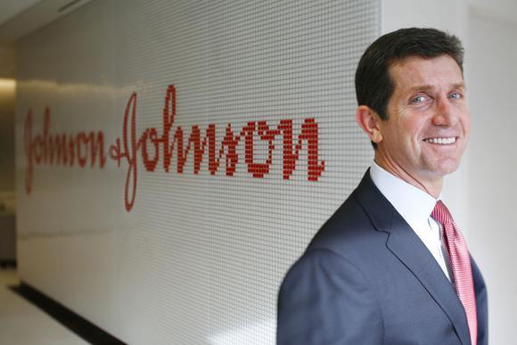J&J CEO Alex Gorsky.