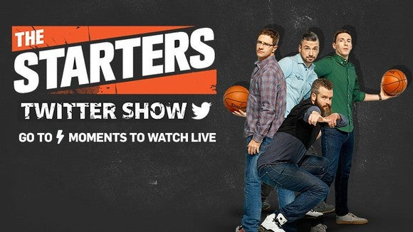 """Promotional Graphic for """"The Starters."""""""