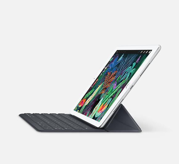 iPad Pro with Smart Keyboard.