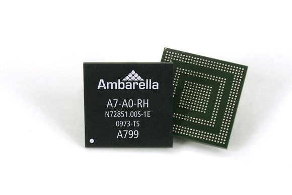 Ambarella system on a chip