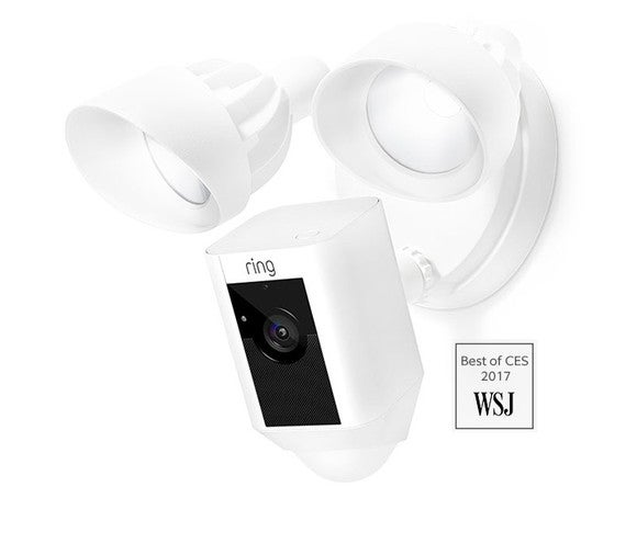 Ring floodlight camera.
