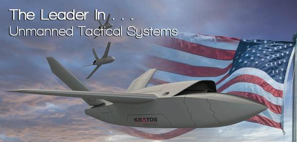 Kratos UTAP-22 Tornado drone.