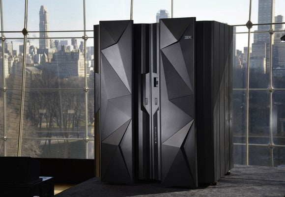 The IBM z13 mainframe.