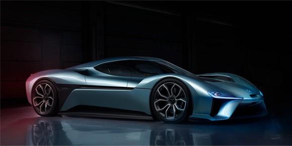 NIO's EP9, the fastest EV supercar in the world.