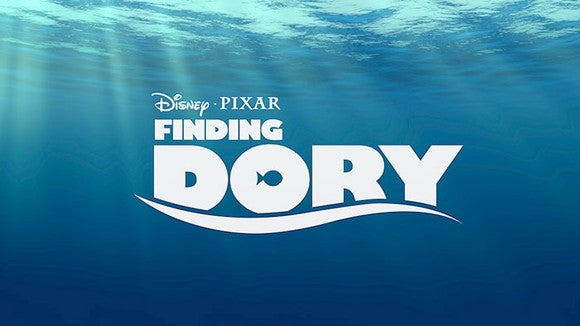 Title screen from Finding Dory